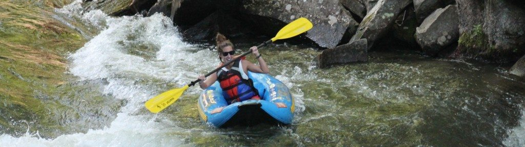 Nantahala river ducky trip