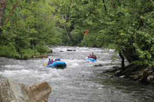 Non-Guided Nantahala River Rafting