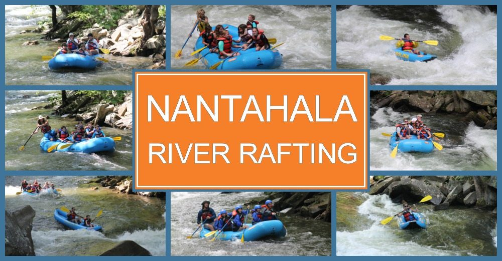 Nantahala river rafting near Atlanta