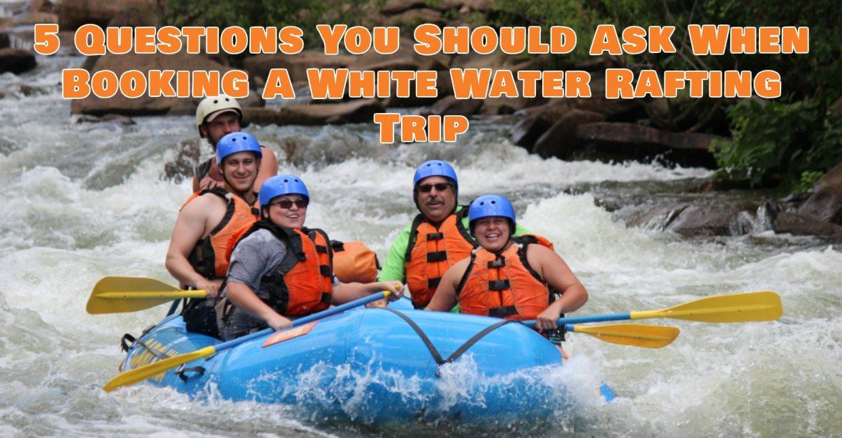 5 rafting question